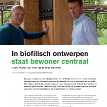 Artikel in blad Timmerfabrikant over project Westbroek